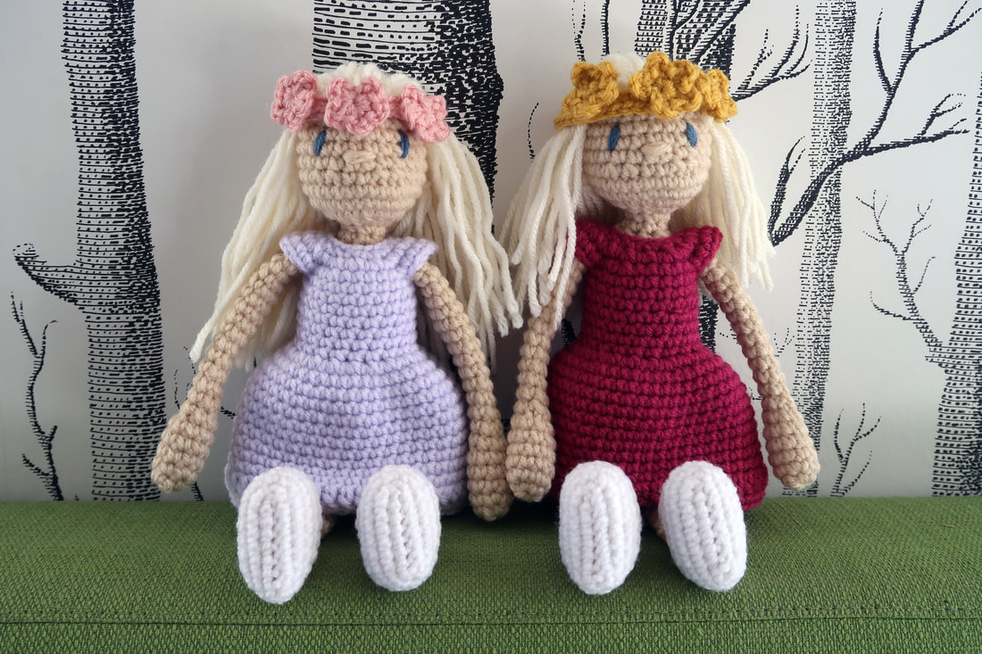 Kerry Lord Toft Dress Up Dolls String Things